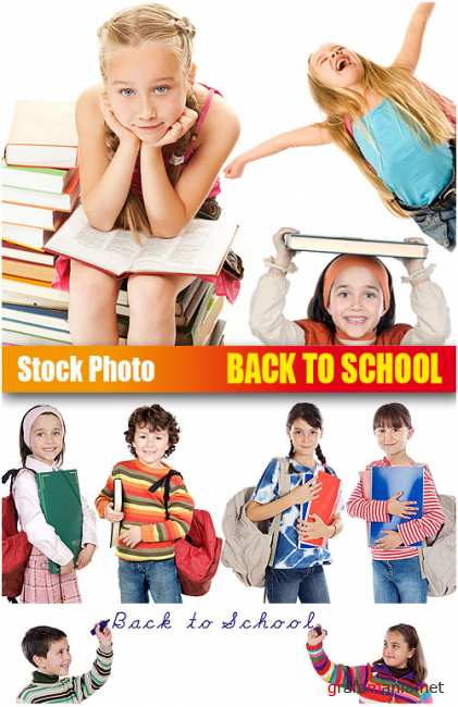 UHQ Stock Photo - Back to School