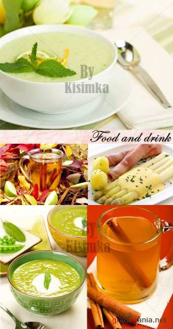 Stock Photo: Food and drink