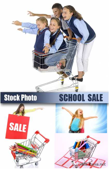 UHQ Stock Photo - School Sale