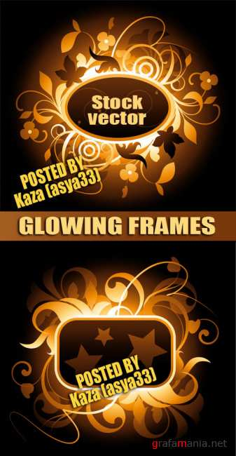 Glowing frame
