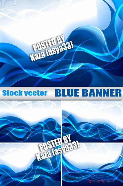 Blue banners 2