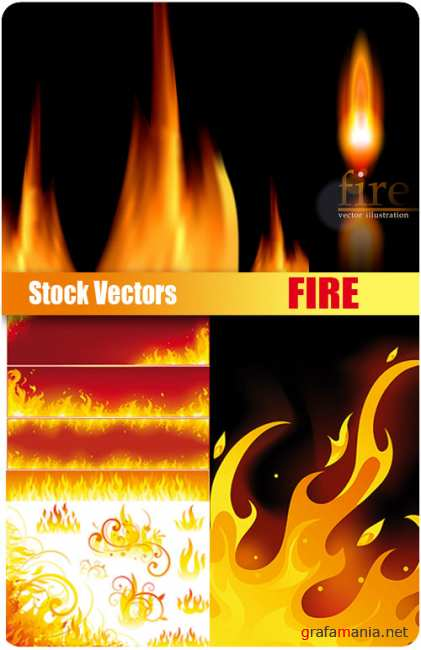 Stock Vectors - Fire