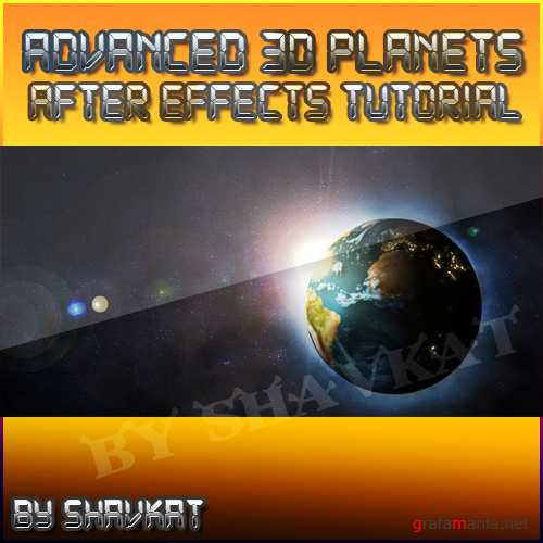 After Effects Tutorial - Advanced 3D Planets