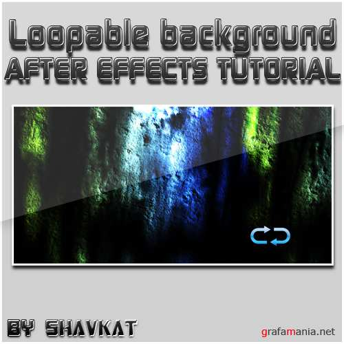 Loopable background In After Effects