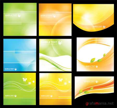 Colorful Abstract Vector Backgrounds 27