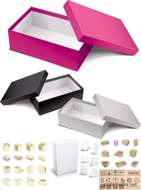 Vector Boxes Pack
