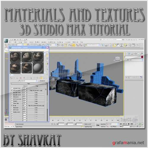 Materials and Textures in 3D Studio Max