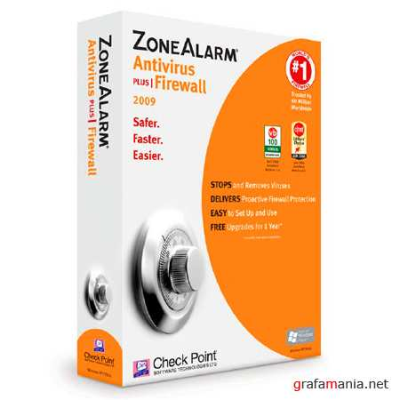 ZoneAlarm with Antivirus 9.3.014.000 (2010/Eng)