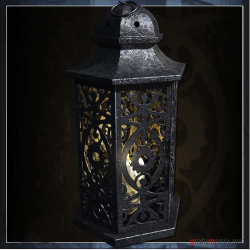 Modeling Texturing The Lantern' – A 3Ds Max Project – Part 1 (Only Modeling)