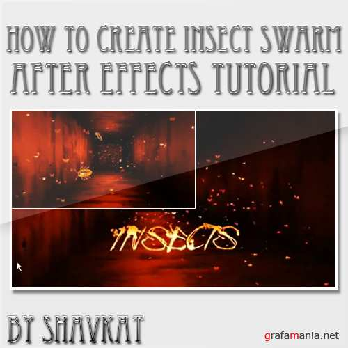 How to create insect swarm in After Effects