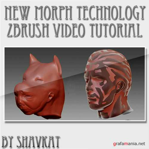 New Morph Technology in Zbrush (2010)