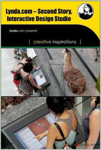Lynda.com Second Story Interactive Design Studio Creative Inspirations