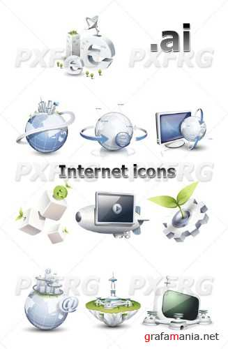 Internet vector icons