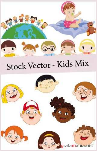 Stock Vector - Kids Mix