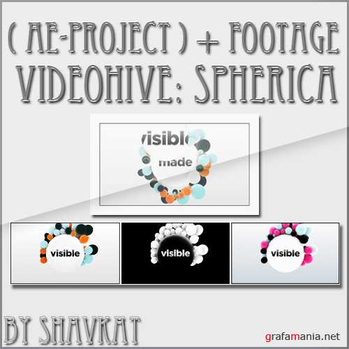 VideoHive: Spherica (AE-Project)+footage