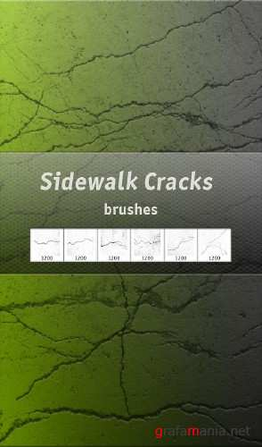 Sidewalk Cracks HQ brushes