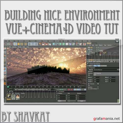 Building a nice view Using Vue with Cinema 4D