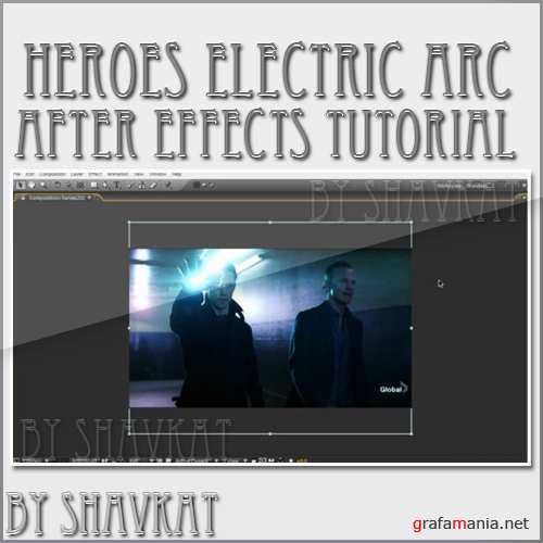 Heroes Electric Arc After Effects Tutorial