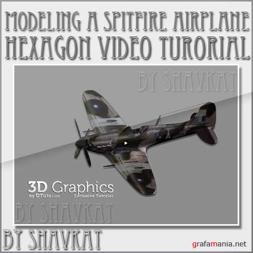 Modeling a spitfire airplane in Hexagon