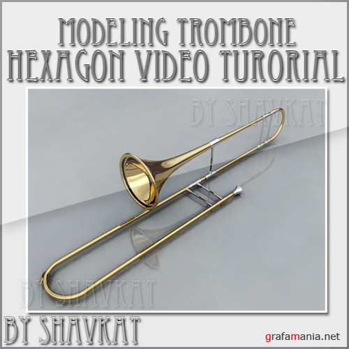 Modeling trombone in Hexagon