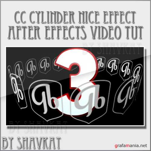 After Effects: CC Cylinder