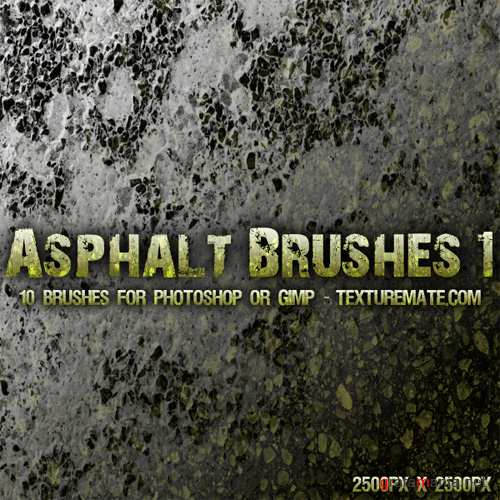 Asphalt Brush Pack