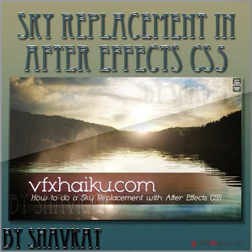 How to do a Sky Replacement with Adobe After Effects CS5