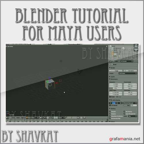 Blender tutorial for Maya users