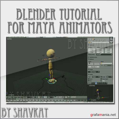 Blender tutorial for Maya Animators