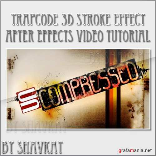 Create a Title with Trapcode 3D Stroke in After effects