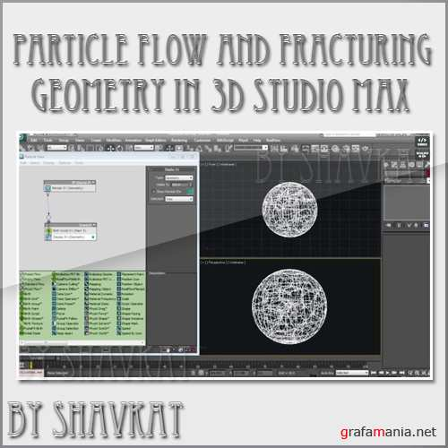 Particle Flow and Fracturing Geometry