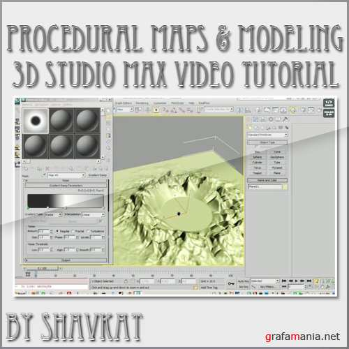 Procedural Maps & Modeling in 3D Studio Max