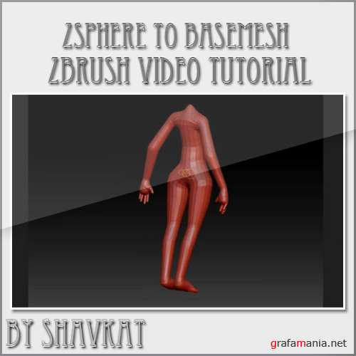 zsphere to basemesh in Zbrush