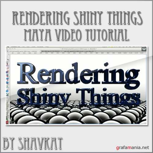 Rendering Shiny Things: Fresnel Reflection in Maya