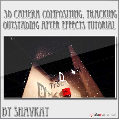3D camera compositing, tracking in After Effects