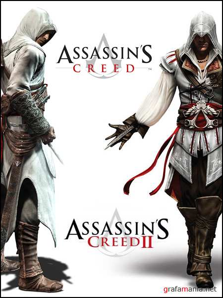 Assassin's Creed. Dilogy / Assassin's Creed. Дилогия (2008-2010/RUS/RePack)