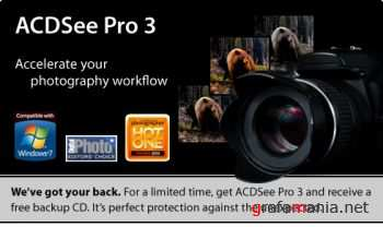 ACDSee Pro 3.0 Build 475 & ACDSee Photo Manager 12.0 Build 344 Russian RePack by GoldProgs