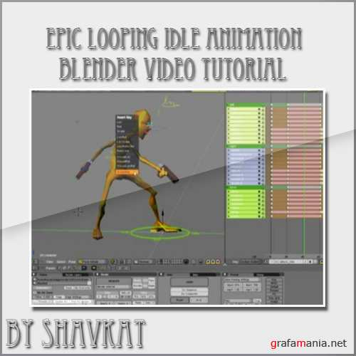Epic Looping Idle Animation in Blender