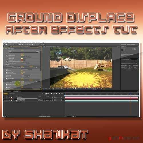 Ground Displace After Effects tutorials
