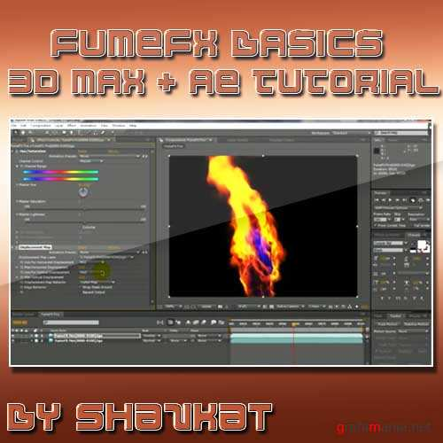 FumeFx- Fire Making in 3Ds Max Compositing in After Effects