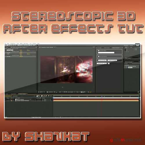 Stereoscopic 3D Workflow in After Effects - 2 parts of Tutorial