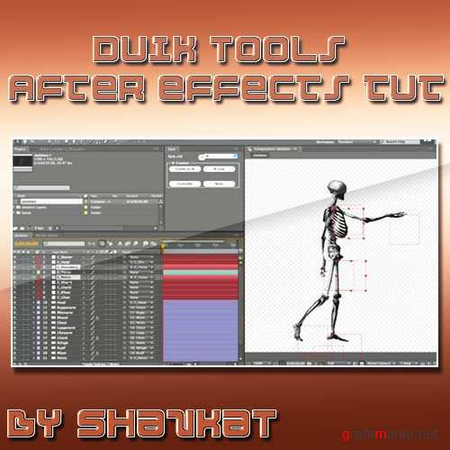DuIK Tools - Inverse Kinematics for After Effects