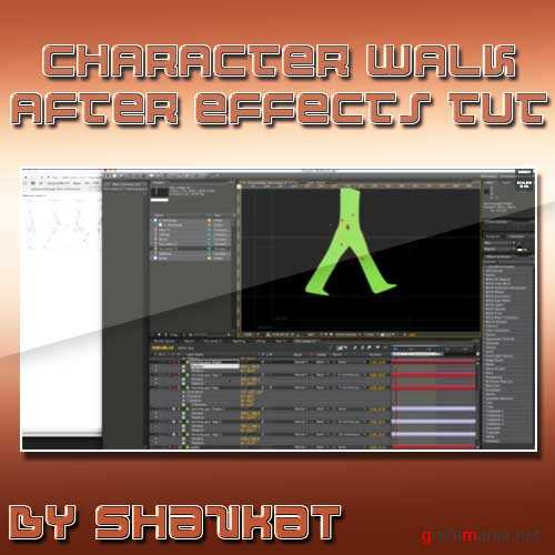 Creating A Character Walk Cycle In After Effects