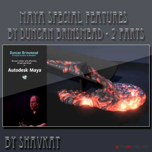 Autodesk Maya Special Features by Duncan Brinsmead