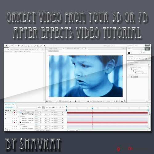 How To Color Correct Video from your 5D or 7D with After Effects