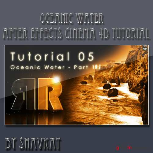 Oceanic Water Cinema 4D and After Effects Tutorial