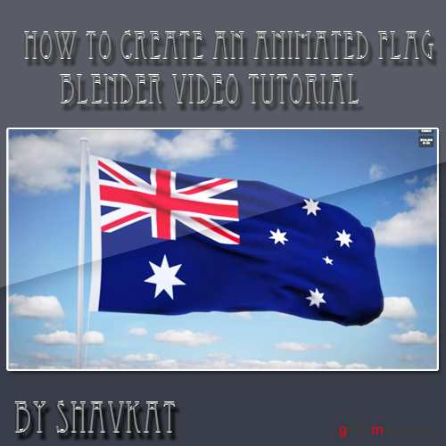 How to Create an Animated Flag in Blender