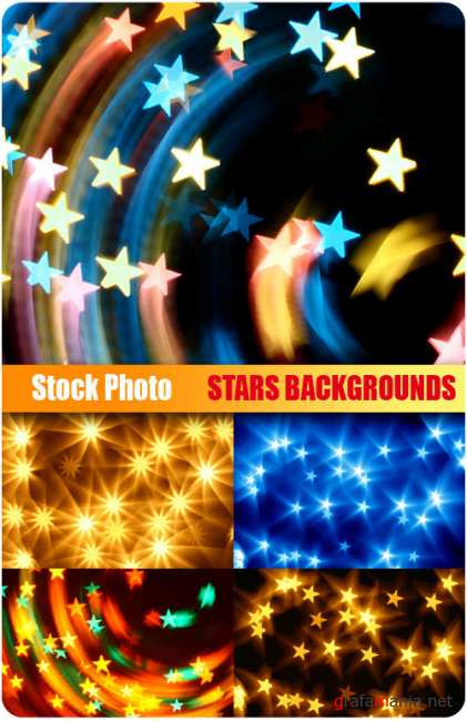 UHQ Stock Photo - Stars Backgrounds