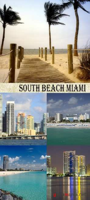 Stock Photo:South Beach Miami