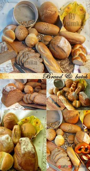Stock Photo: Bread, batch